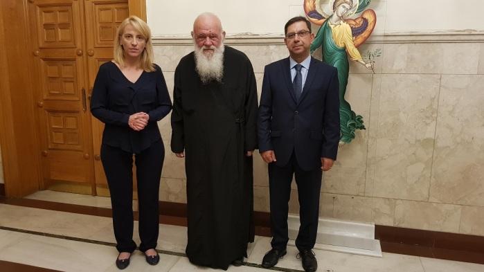 συνάντηση με Αρχιεπίσκοπο Αυγουστος 2018